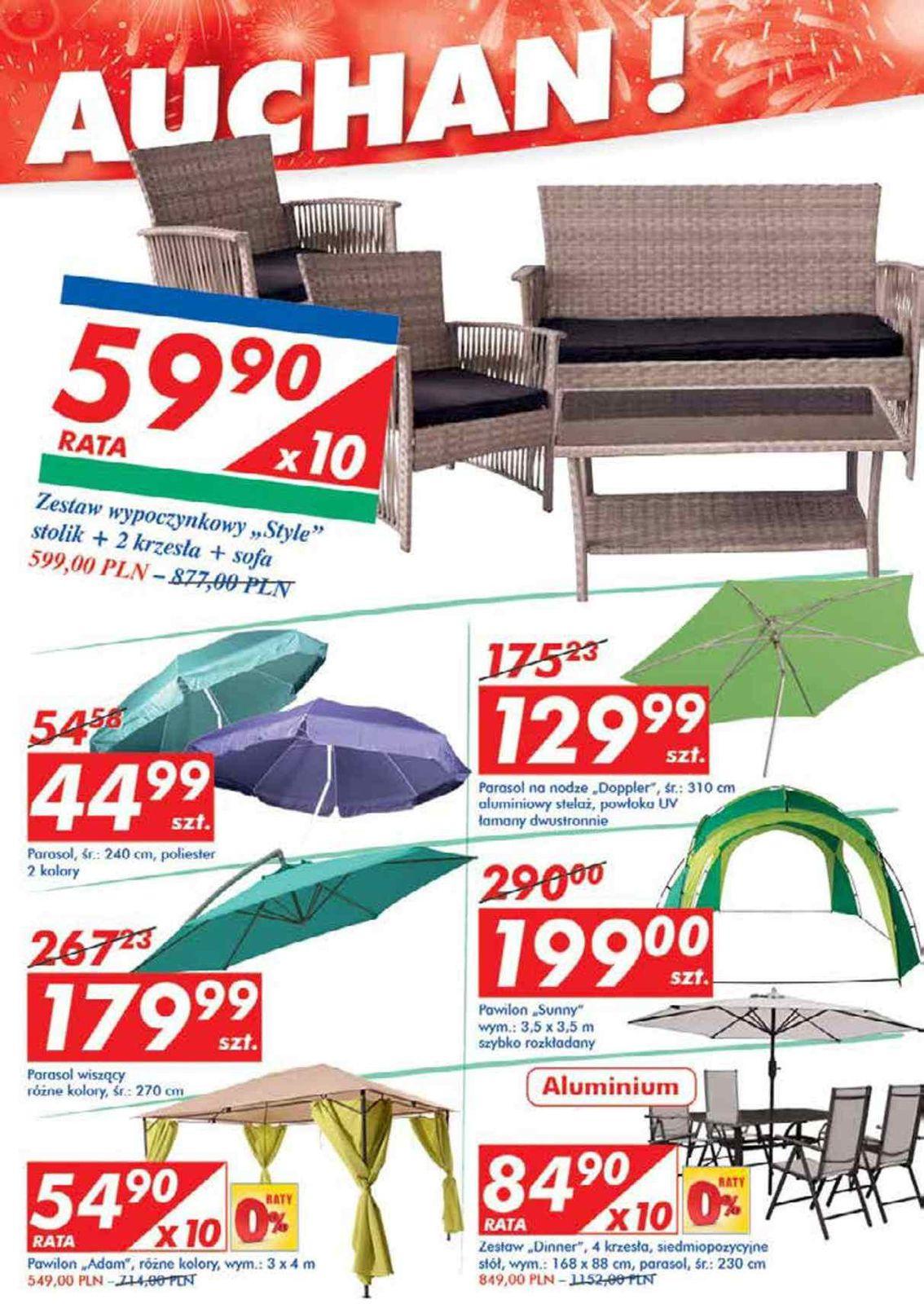Gazetka promocyjna i reklamowa Auchan,