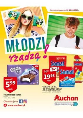 Auchan gazetka - od 22/08/2019 do 28/08/2019