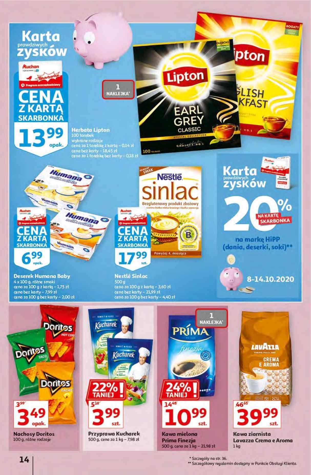 Gazetka promocyjna Auchan do 14/10/2020 str.13