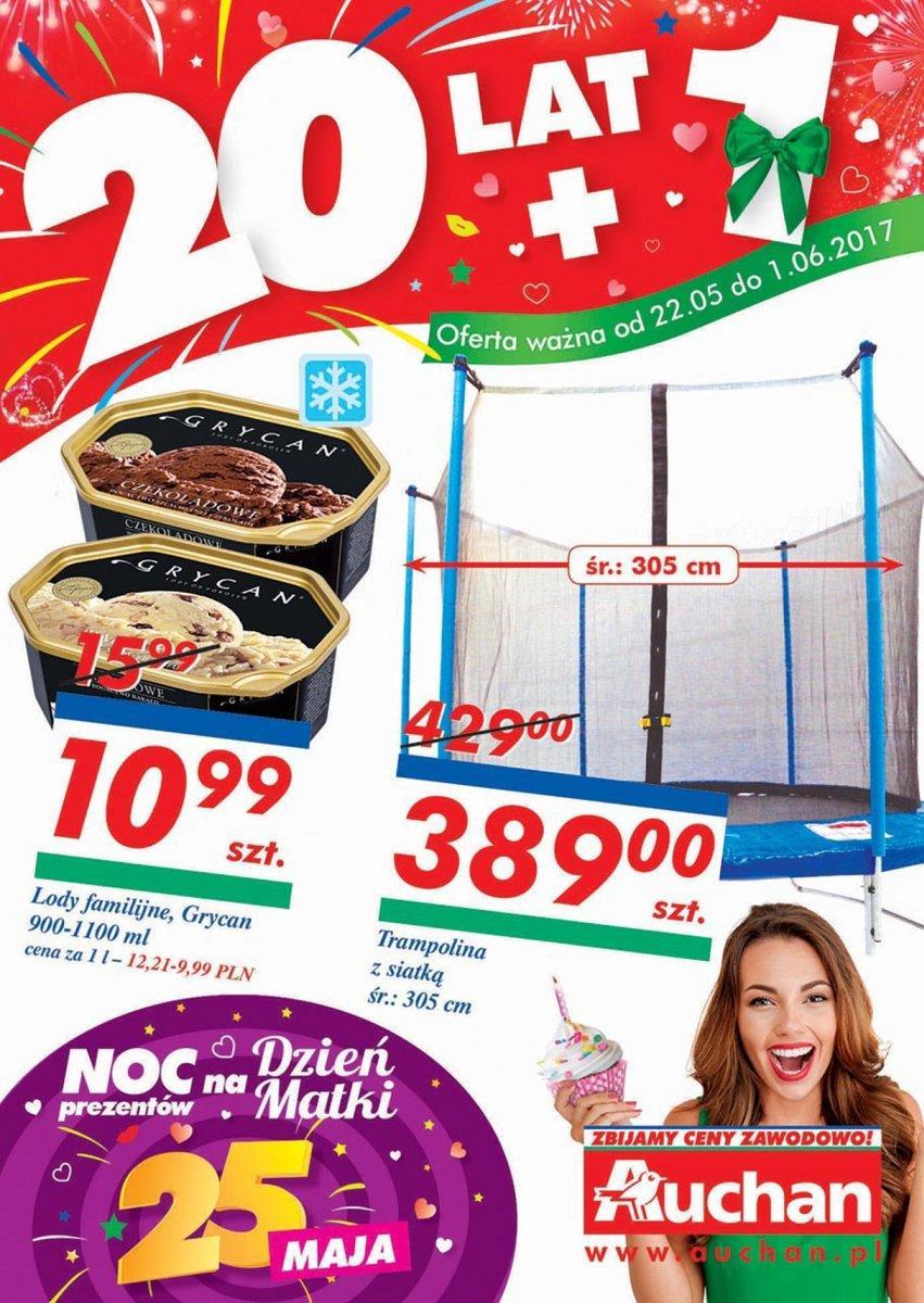 Gazetka promocyjna Auchan do 01/06/2017 str.0