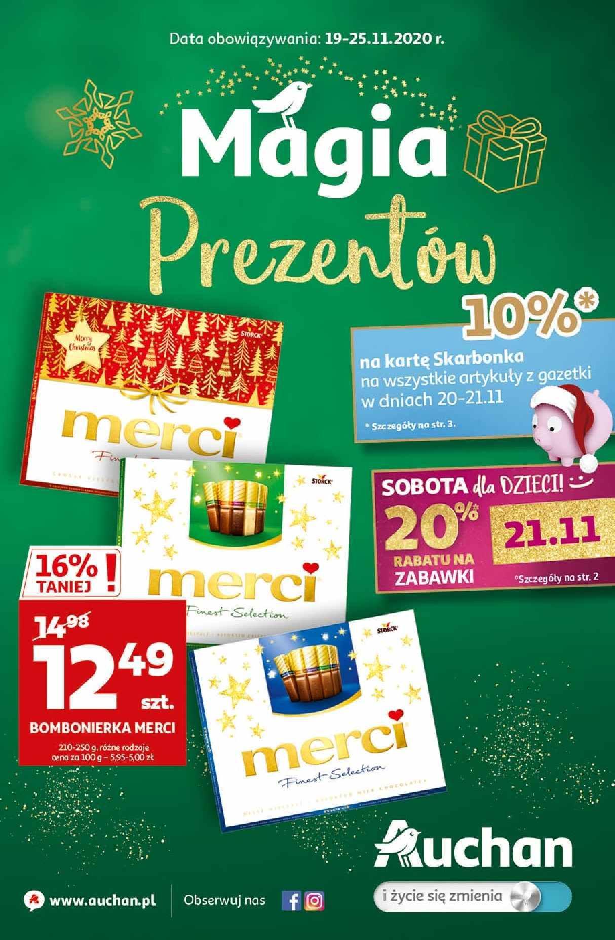 Gazetka promocyjna Auchan do 25/11/2020 str.1