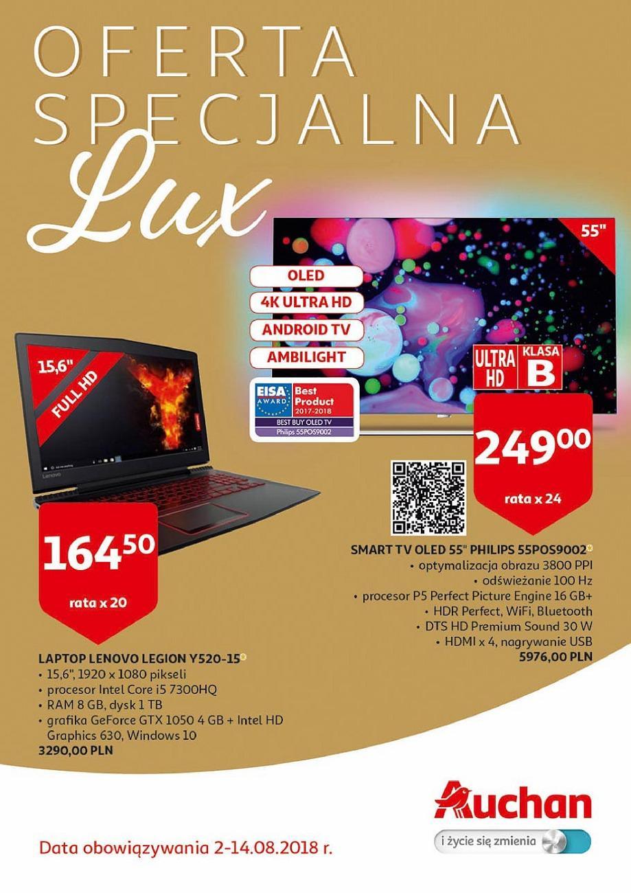 Gazetka promocyjna Auchan do 14/08/2018 str.0