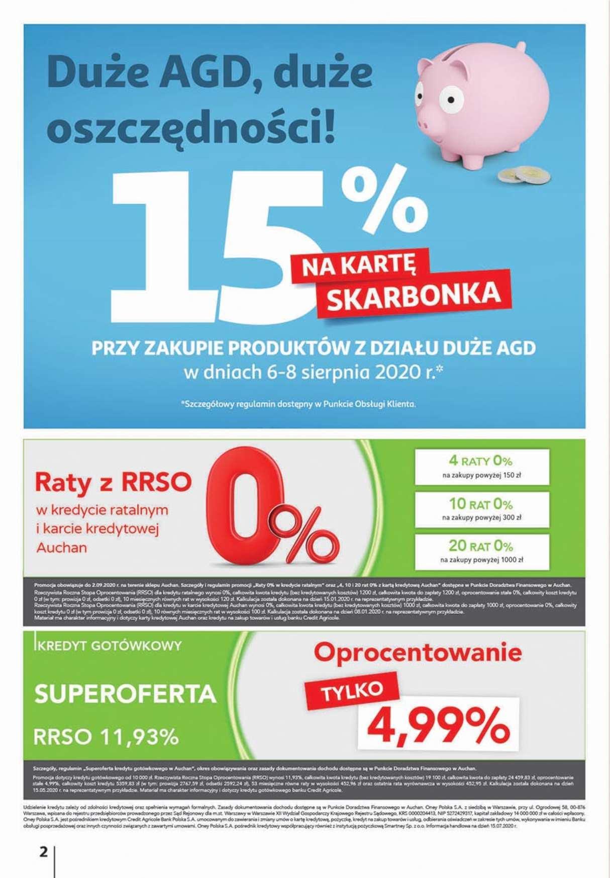 Gazetka promocyjna Auchan do 12/08/2020 str.1
