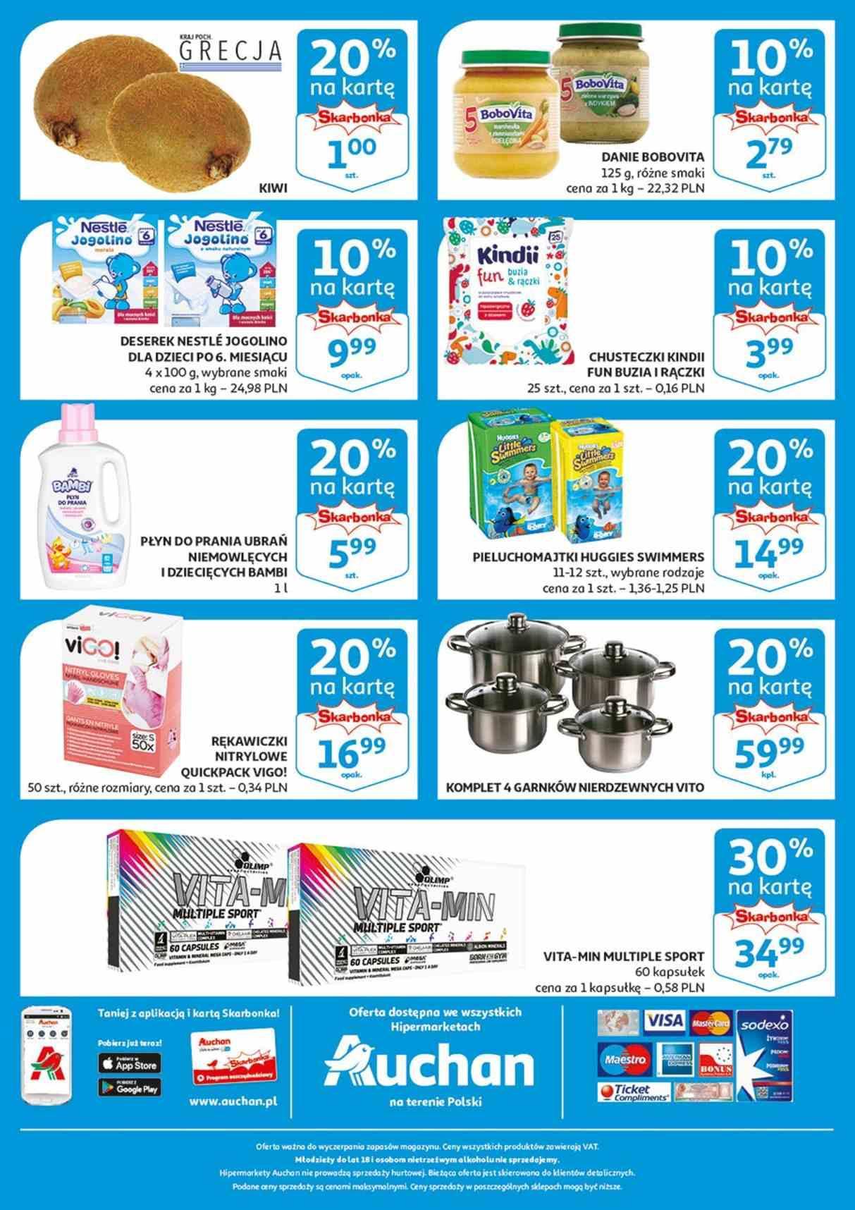 Gazetka promocyjna Auchan do 09/01/2019 str.1