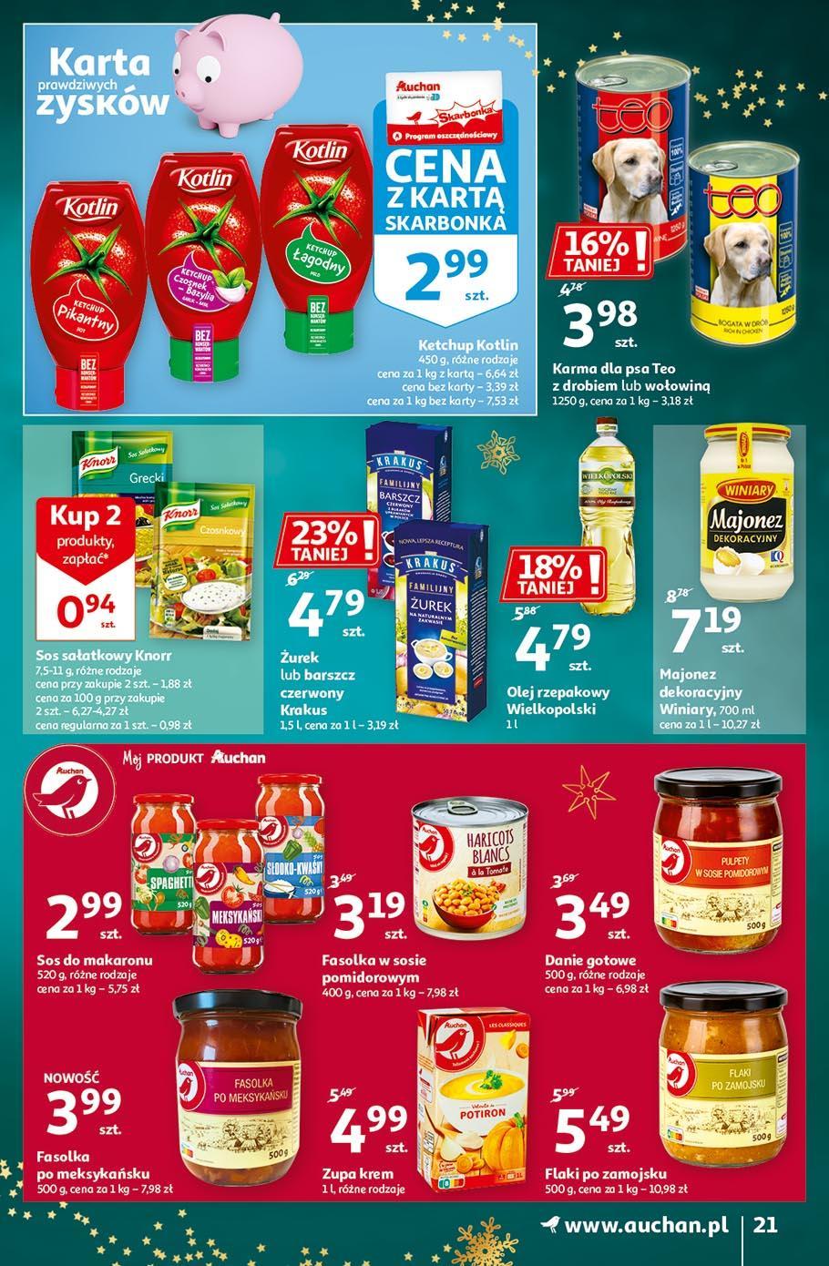 Gazetka promocyjna Auchan do 18/11/2020 str.21