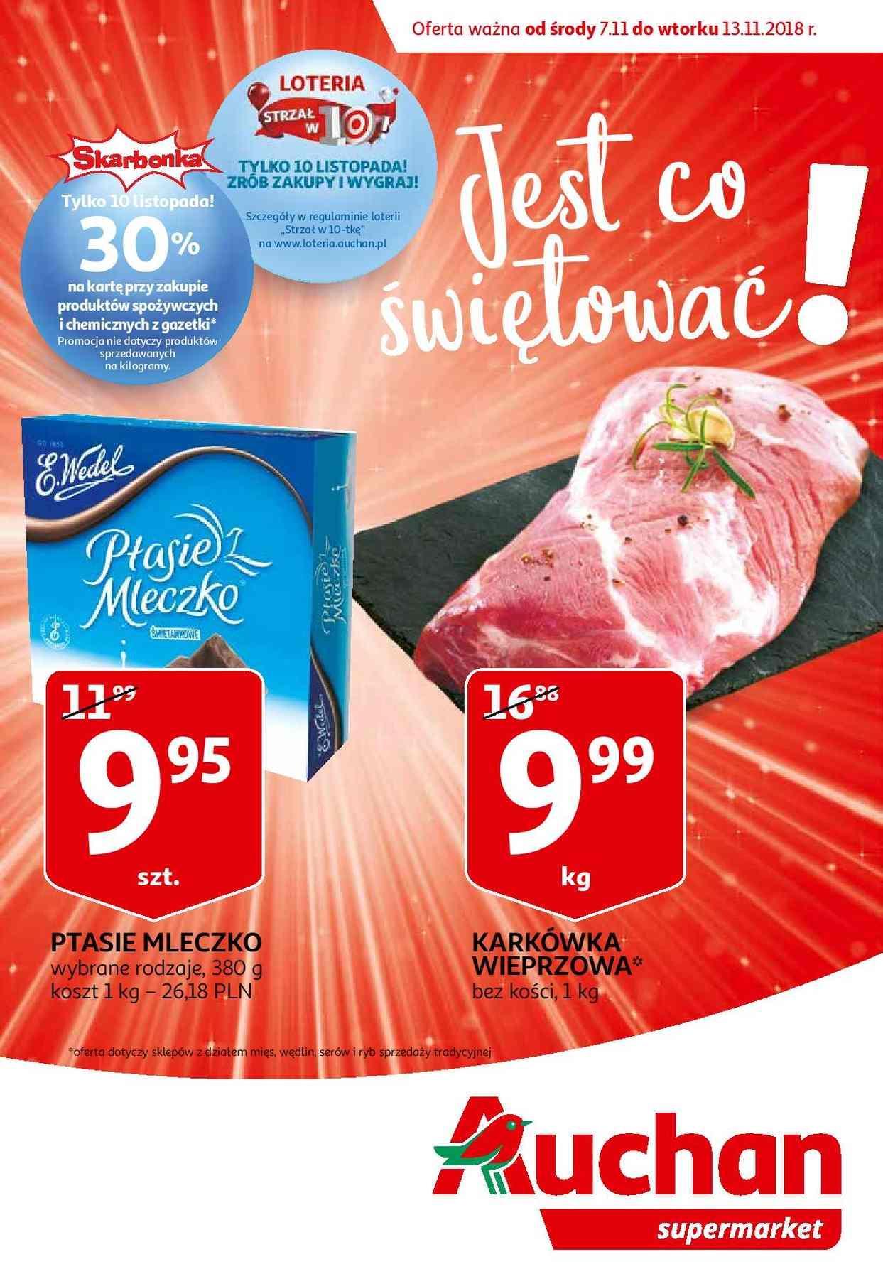 Gazetka promocyjna Auchan do 13/11/2018 str.1