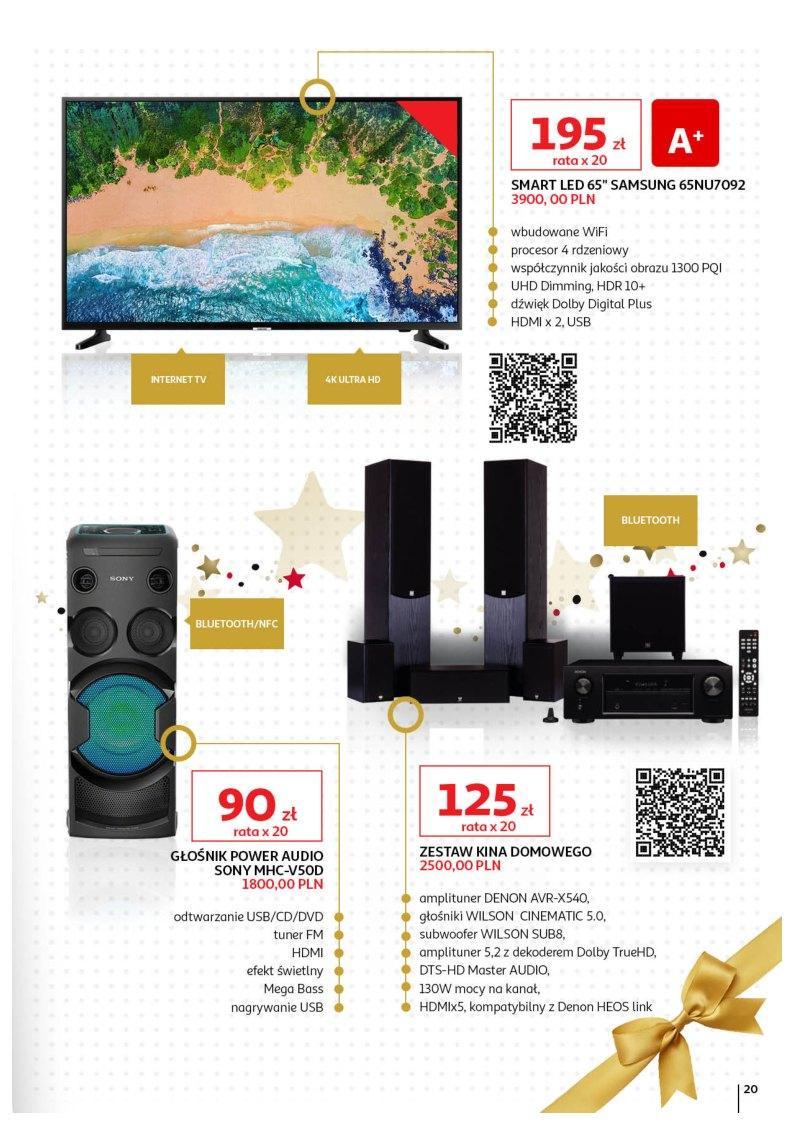 Gazetka promocyjna Auchan do 23/12/2018 str.20