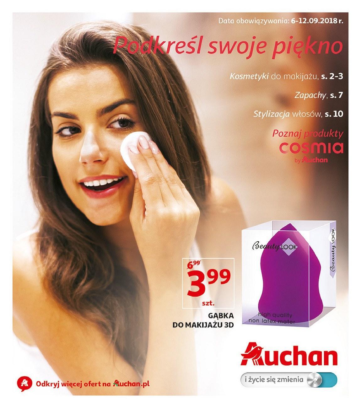 Gazetka promocyjna Auchan do 12/09/2018 str.1