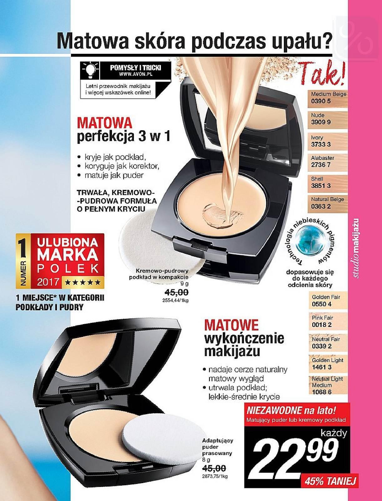 Gazetka promocyjna Avon do 25/07/2018 str.66