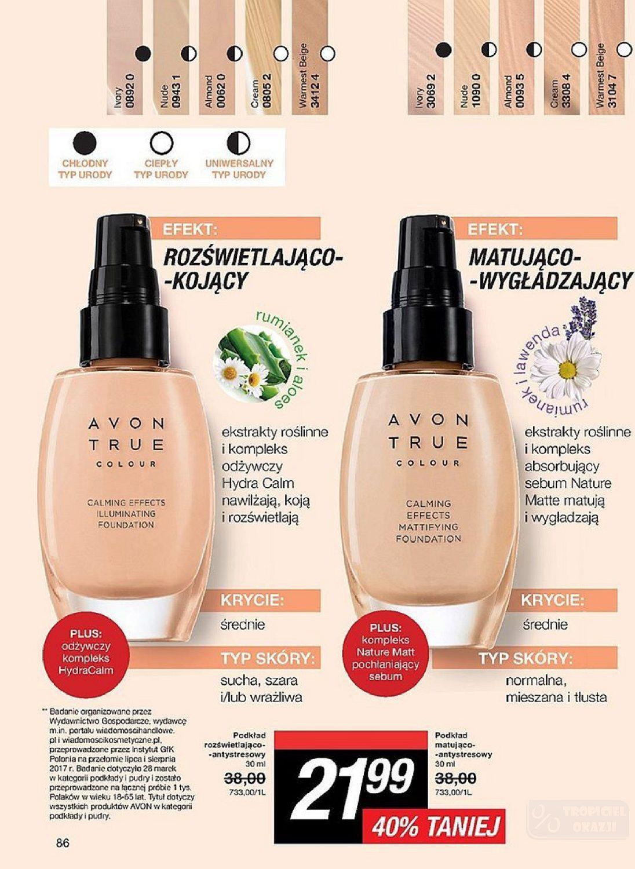Gazetka promocyjna Avon do 26/09/2018 str.85