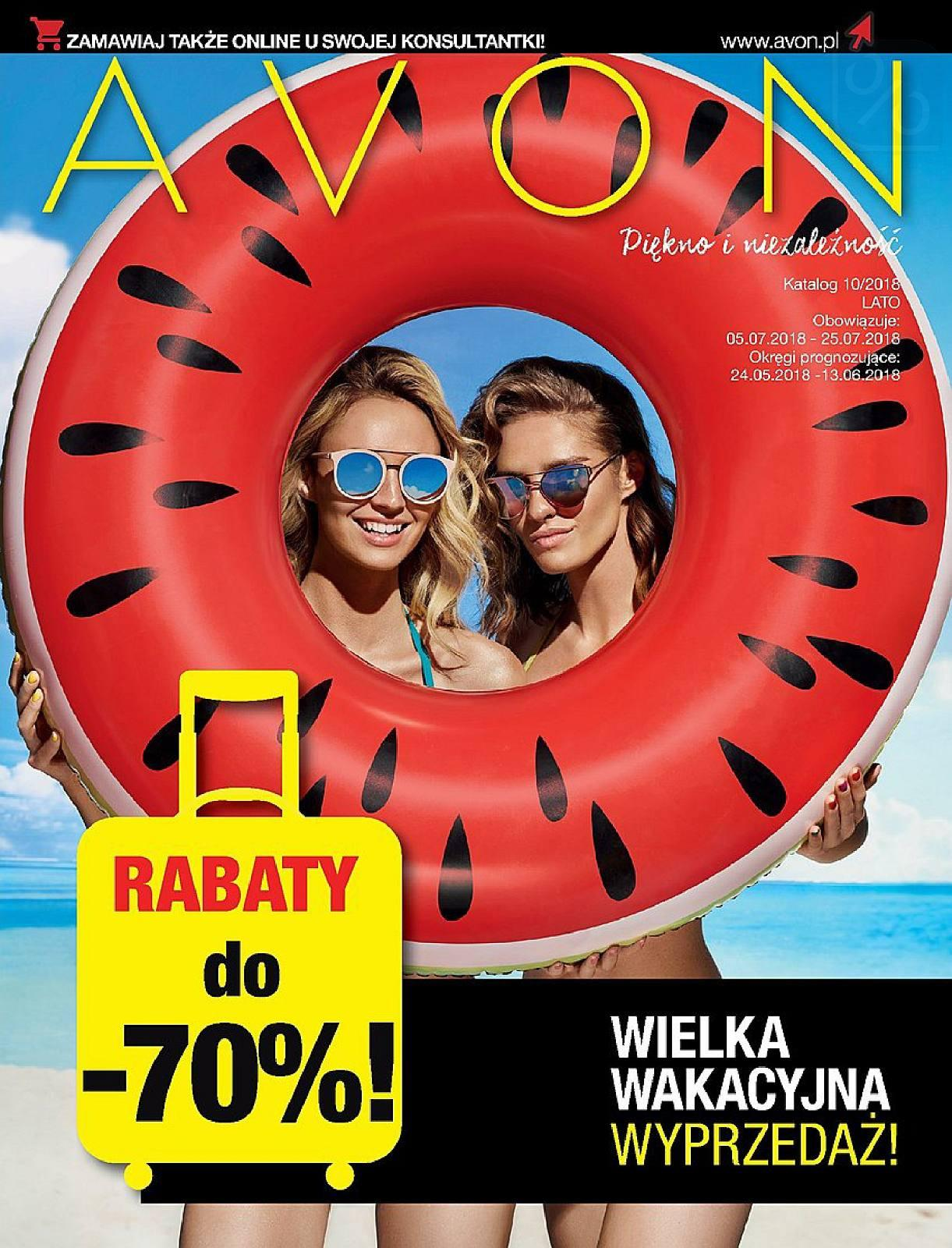 Gazetka promocyjna Avon do 25/07/2018 str.0