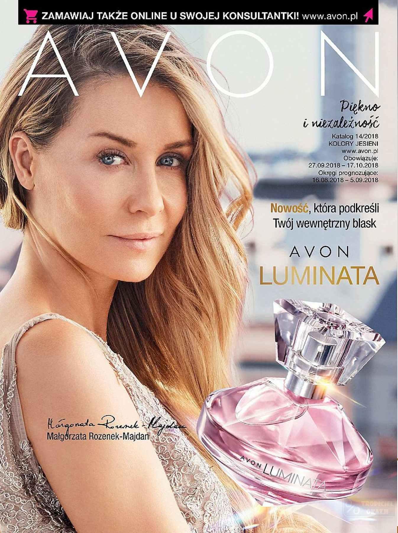 Gazetka promocyjna Avon do 17/10/2018 str.1