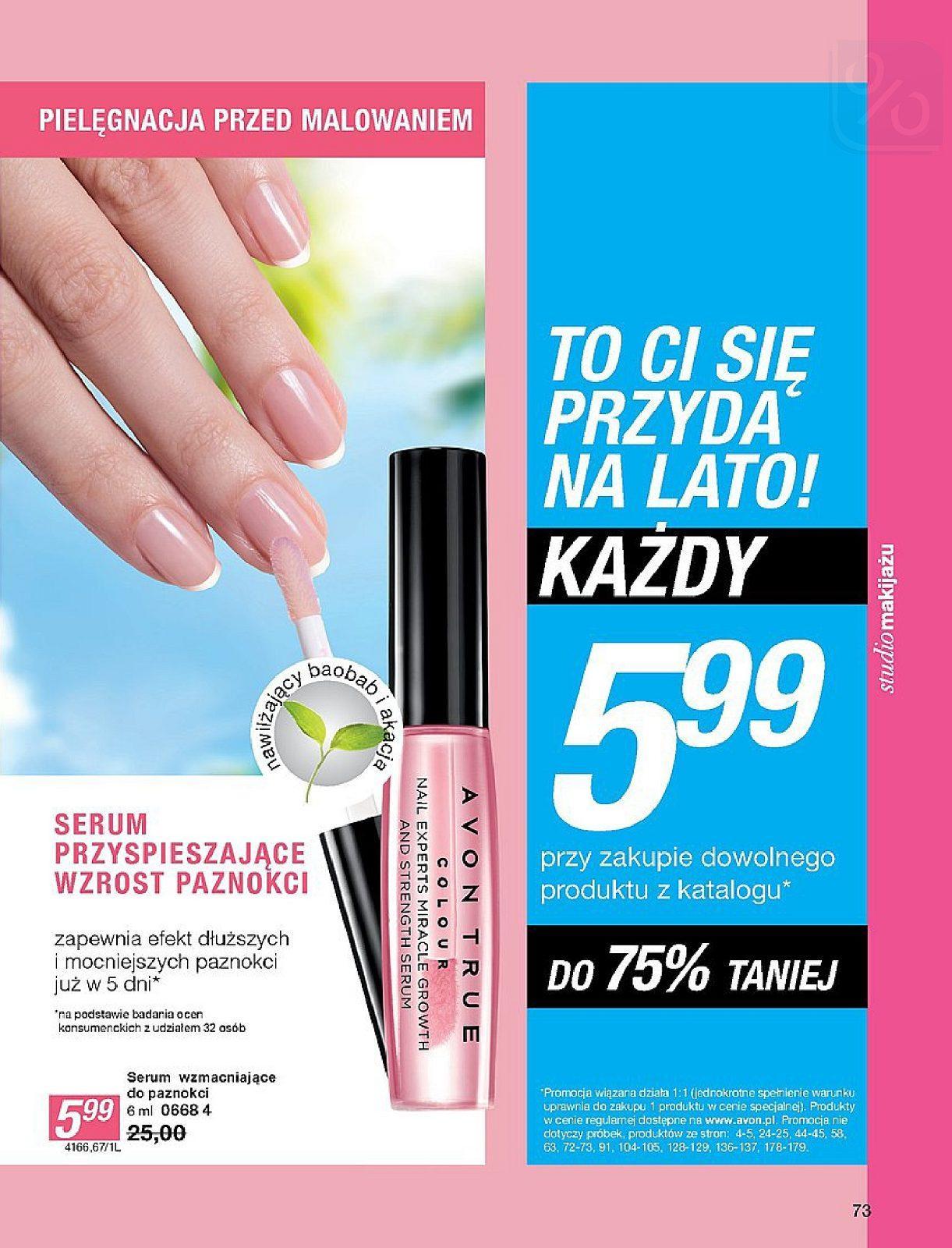 Gazetka promocyjna Avon do 25/07/2018 str.73