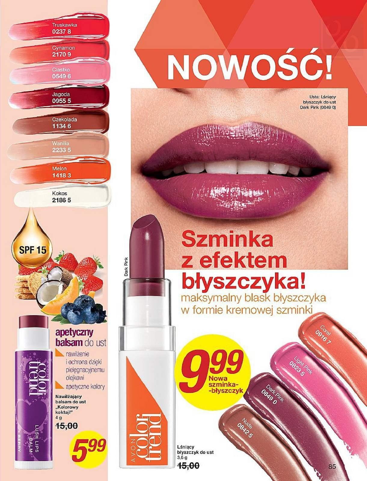 Gazetka promocyjna Avon do 25/07/2018 str.85