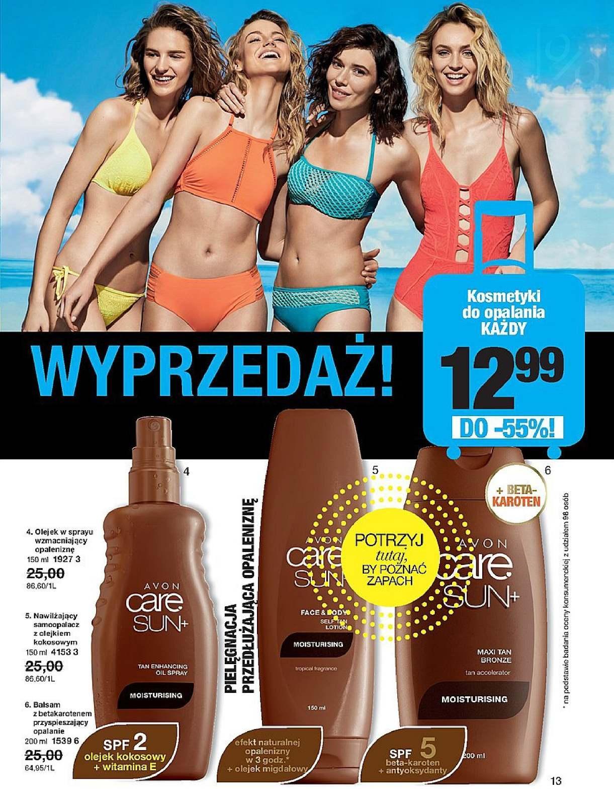 Gazetka promocyjna Avon do 25/07/2018 str.13