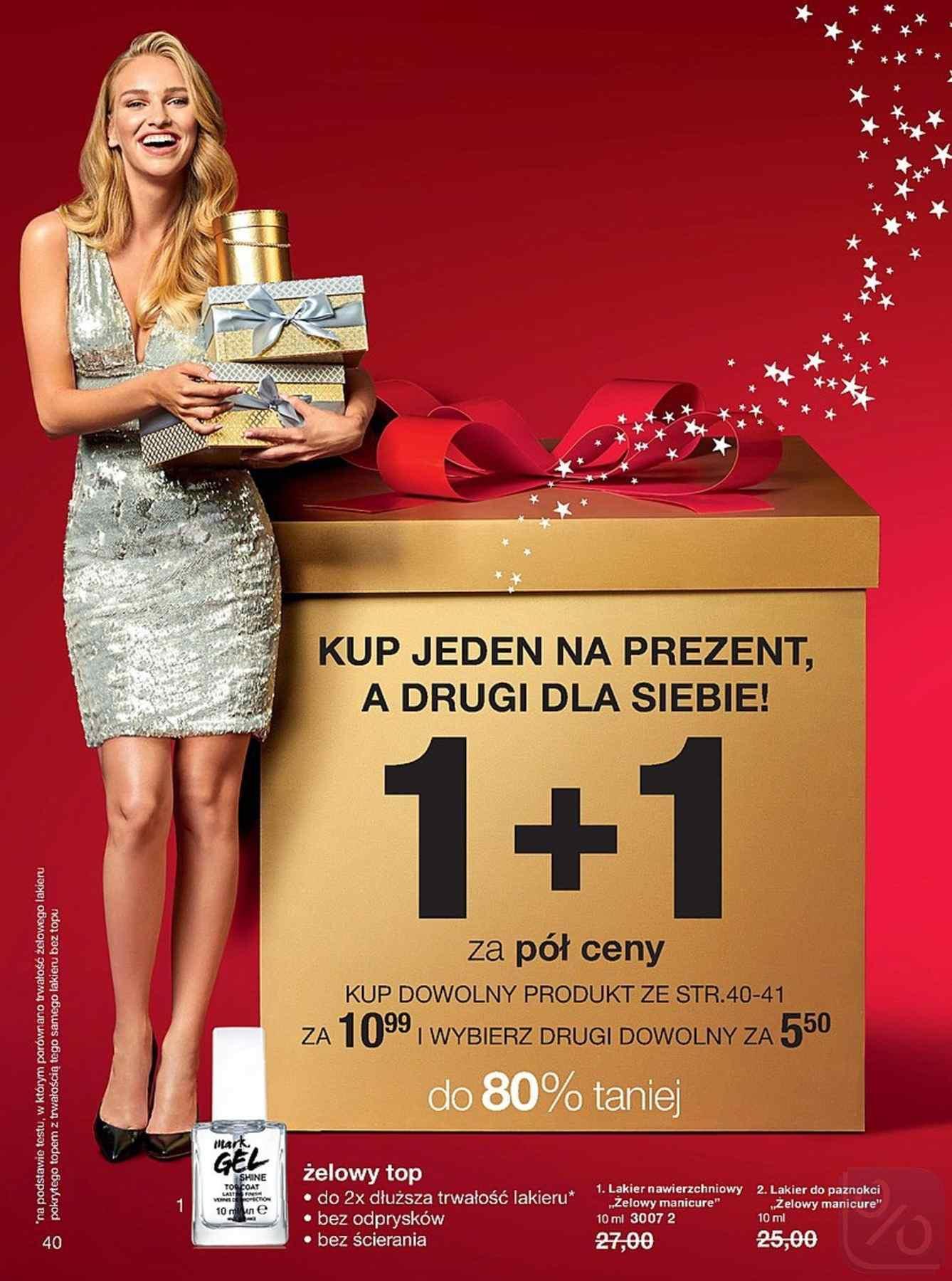 Gazetka promocyjna Avon do 27/12/2018 str.40