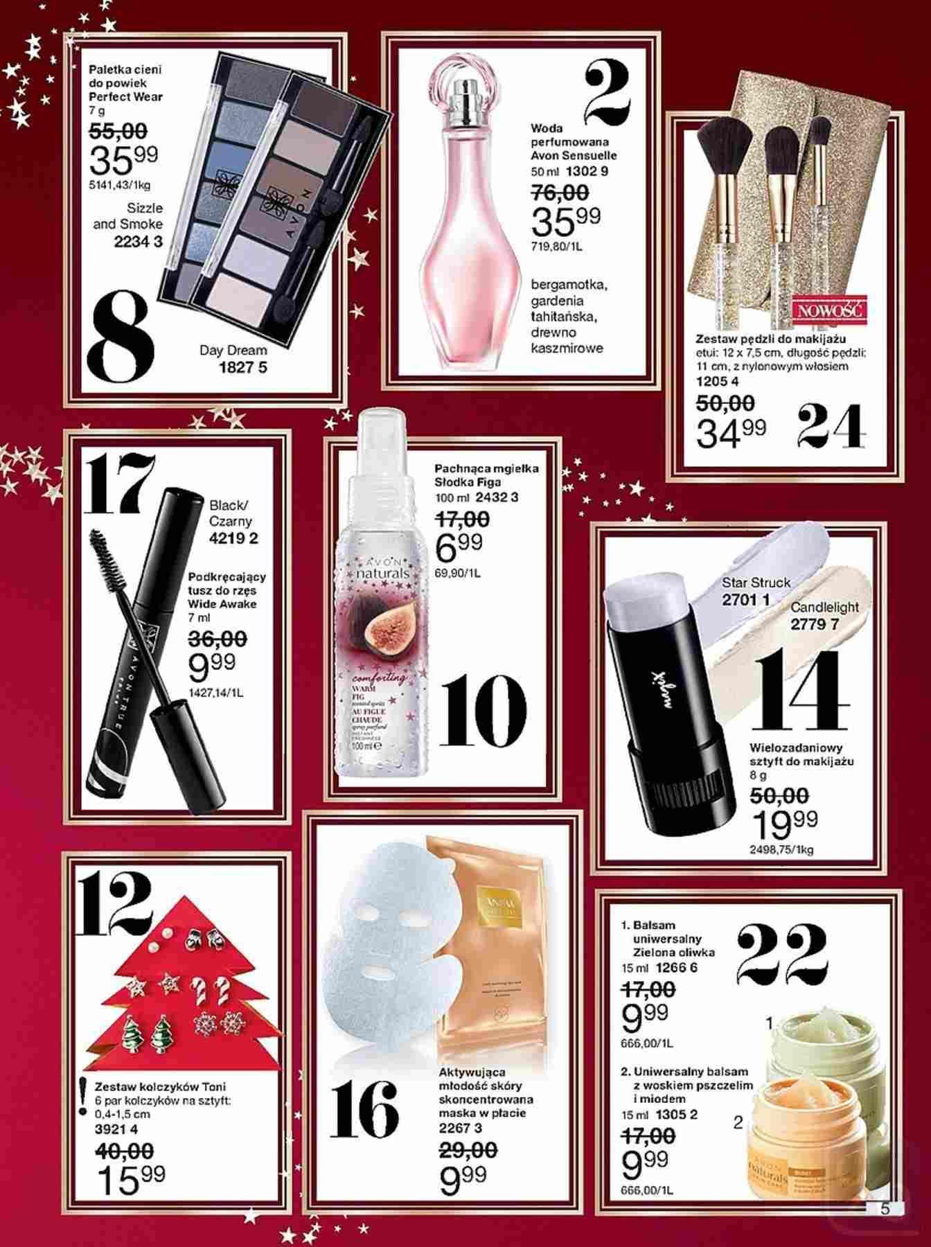 Gazetka promocyjna Avon do 27/12/2018 str.5