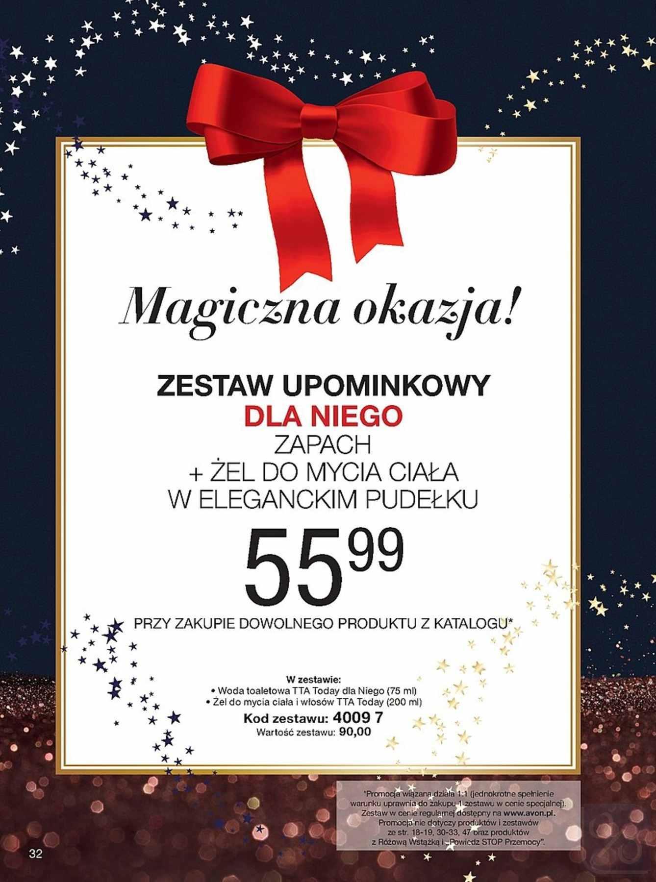 Gazetka promocyjna Avon do 27/12/2018 str.32