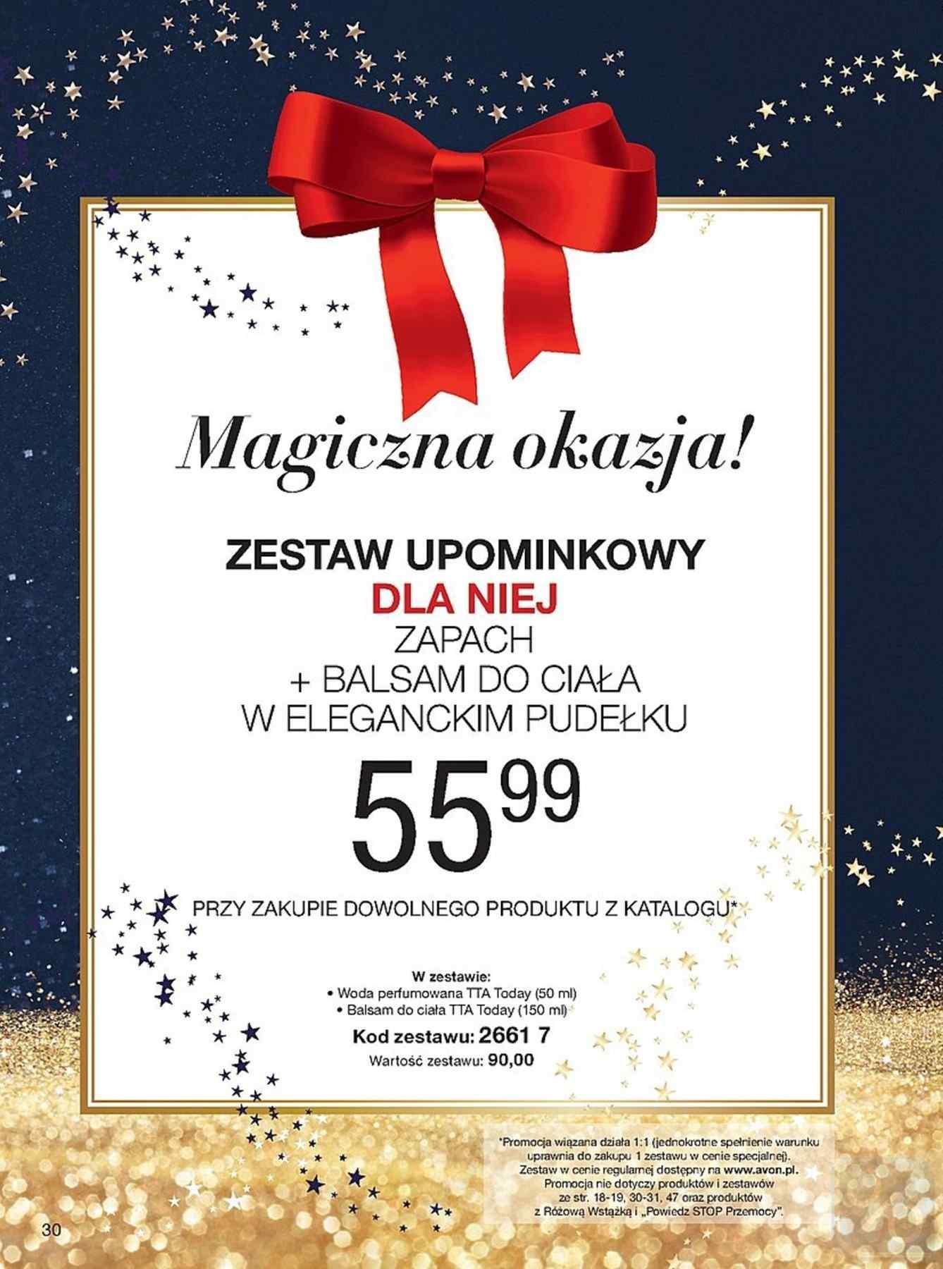 Gazetka promocyjna Avon do 27/12/2018 str.30