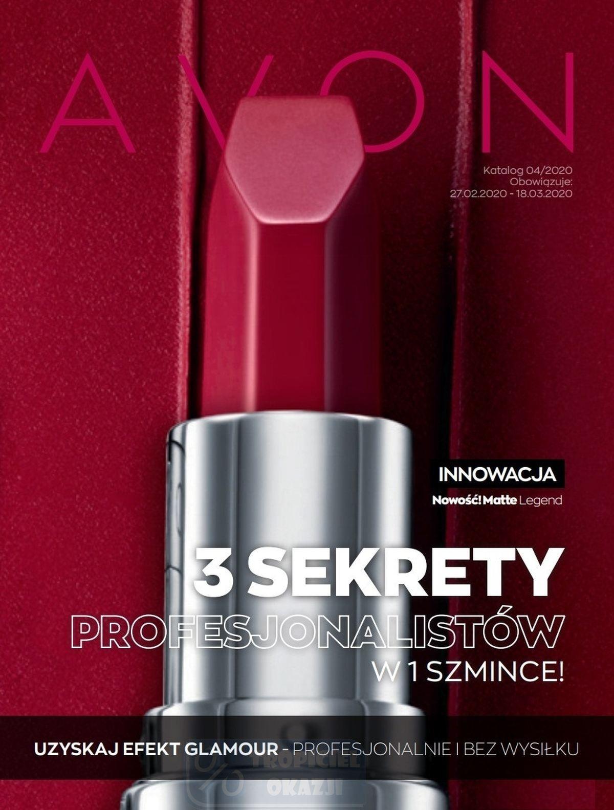 Gazetka promocyjna Avon do 18/03/2020 str.1