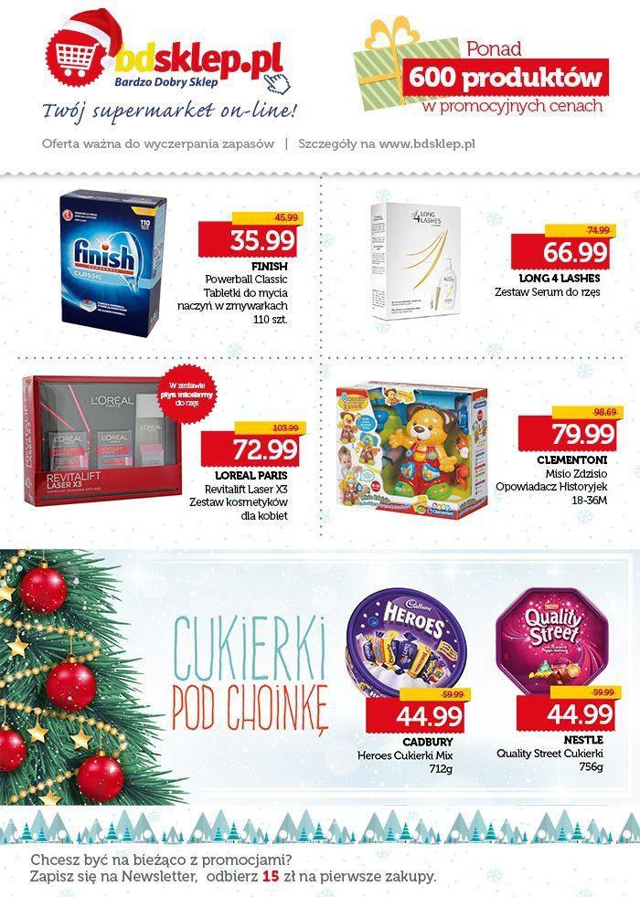 Gazetka promocyjna bdsklep.pl do 31/12/2015 str.1