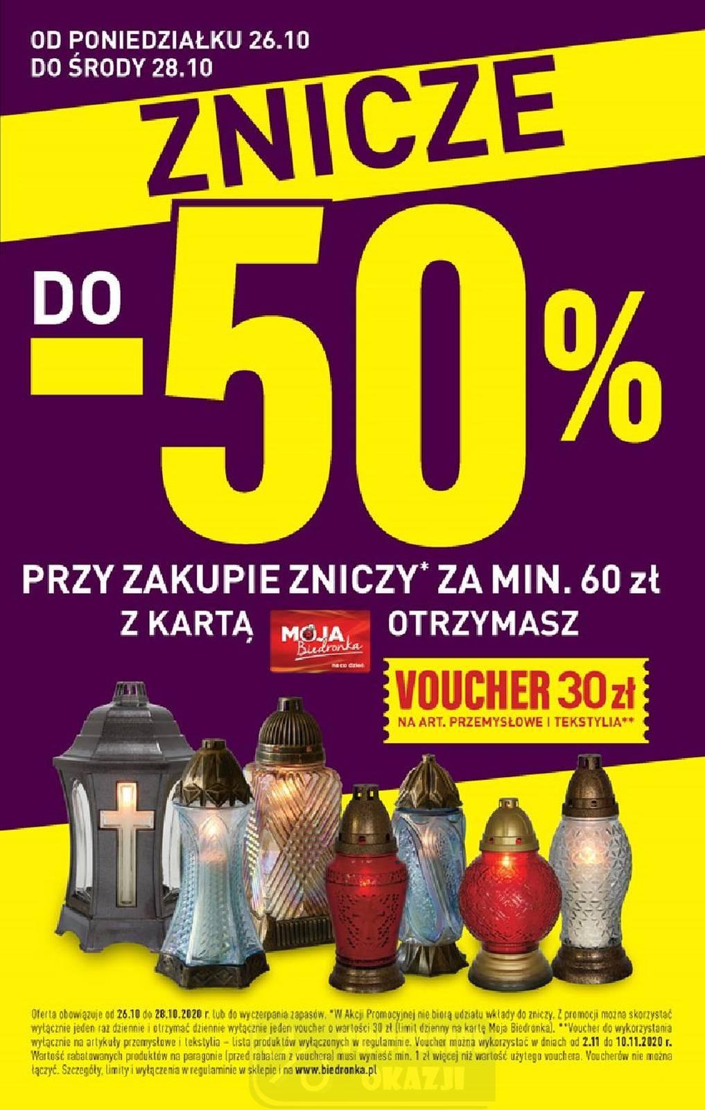 Gazetka promocyjna Biedronka do 31/10/2020 str.3