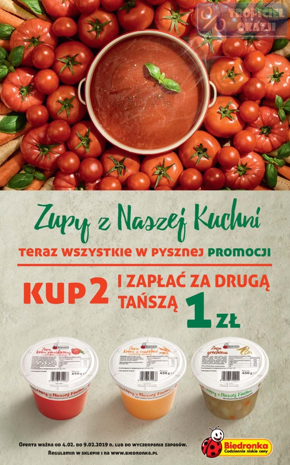 Gazetka Promocyjna I Reklamowa Biedronka W Tym Tygodniu