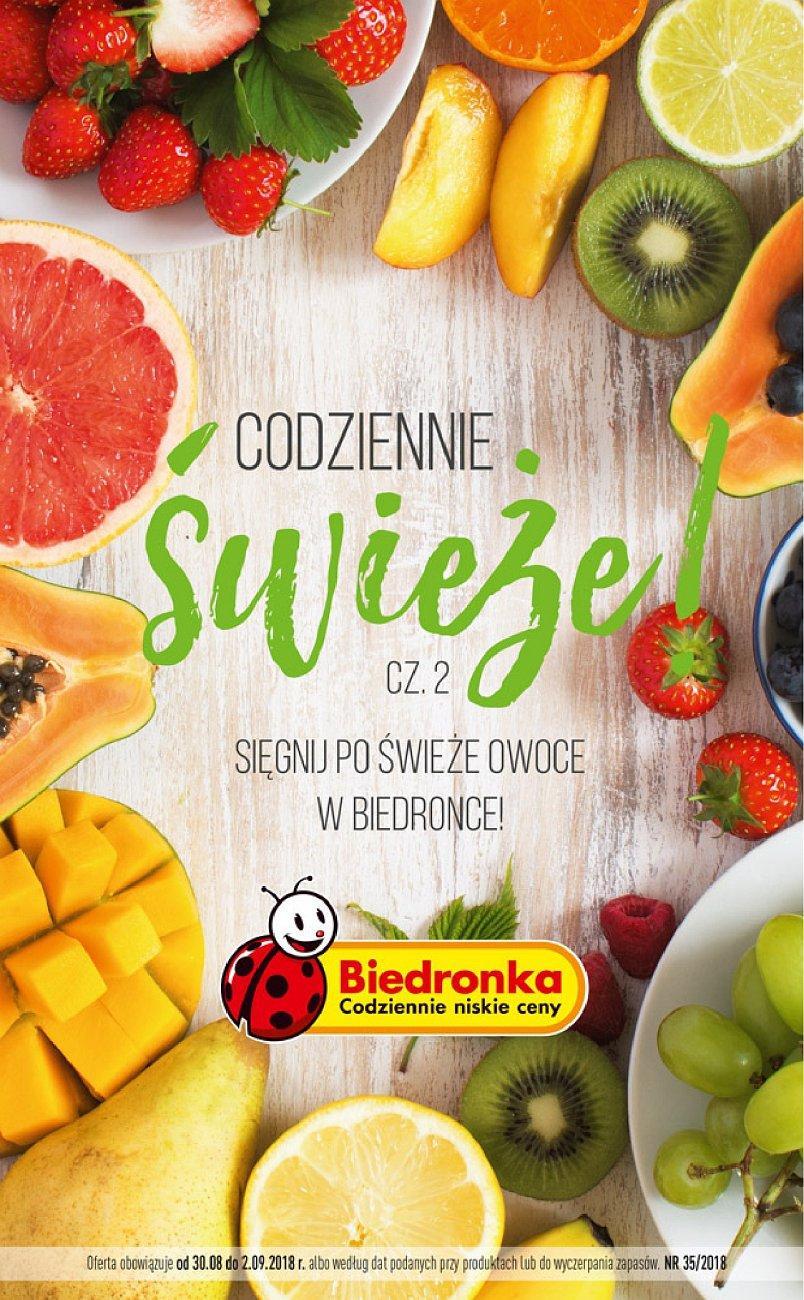 Gazetka promocyjna Biedronka do 02/09/2018 str.0
