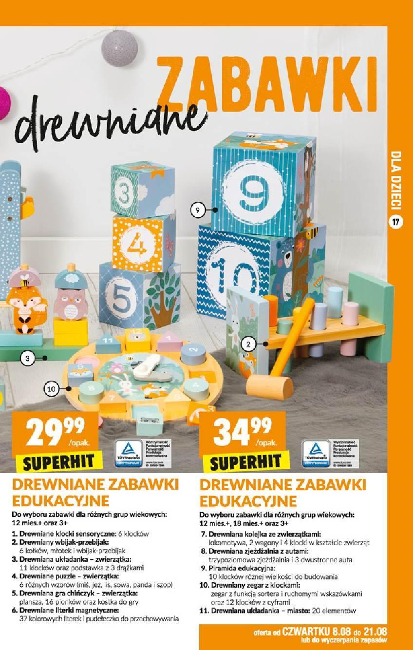 Gazetka promocyjna Biedronka do 21/08/2019 str.16