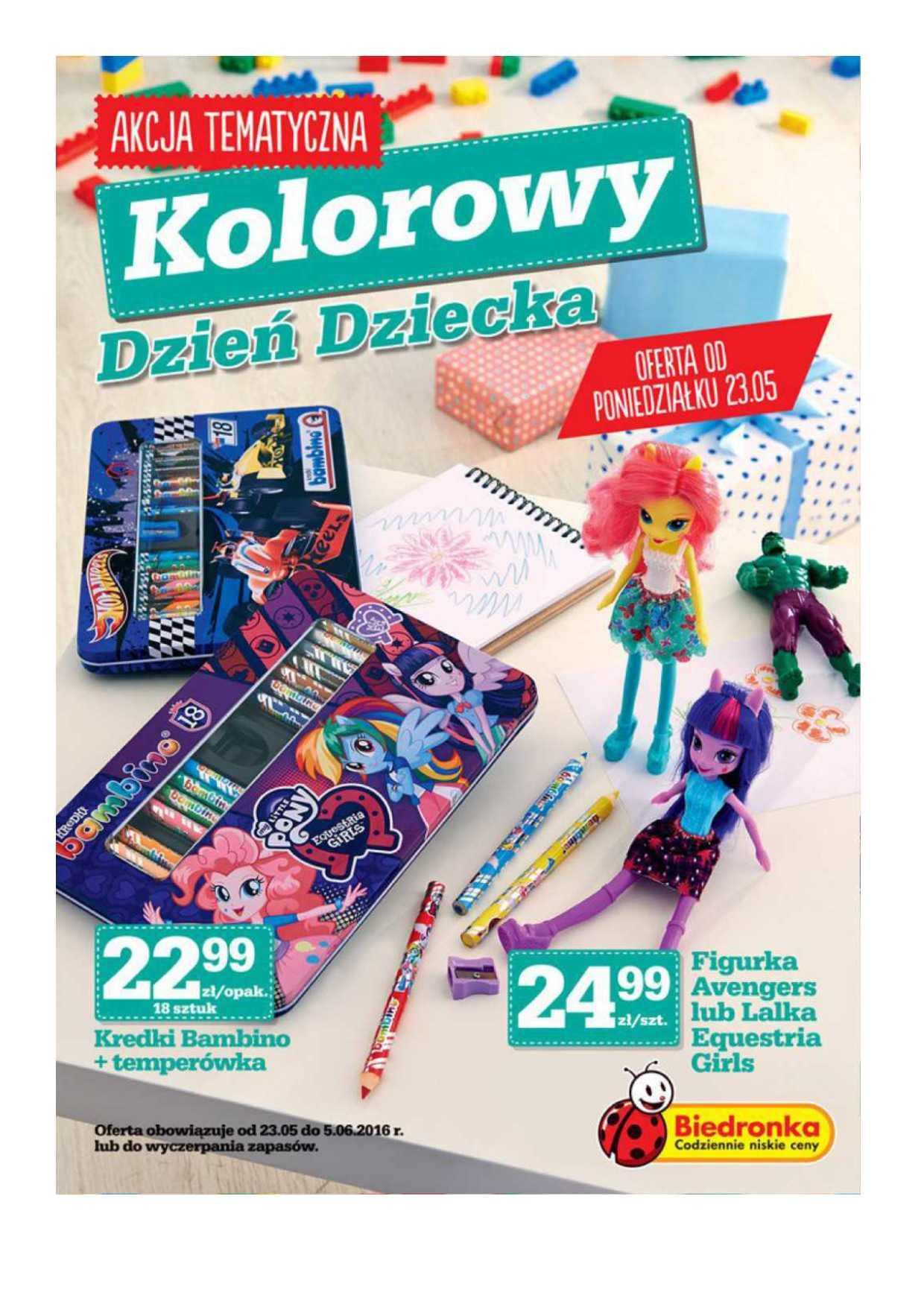 Gazetka promocyjna Biedronka do 05/06/2016 str.0