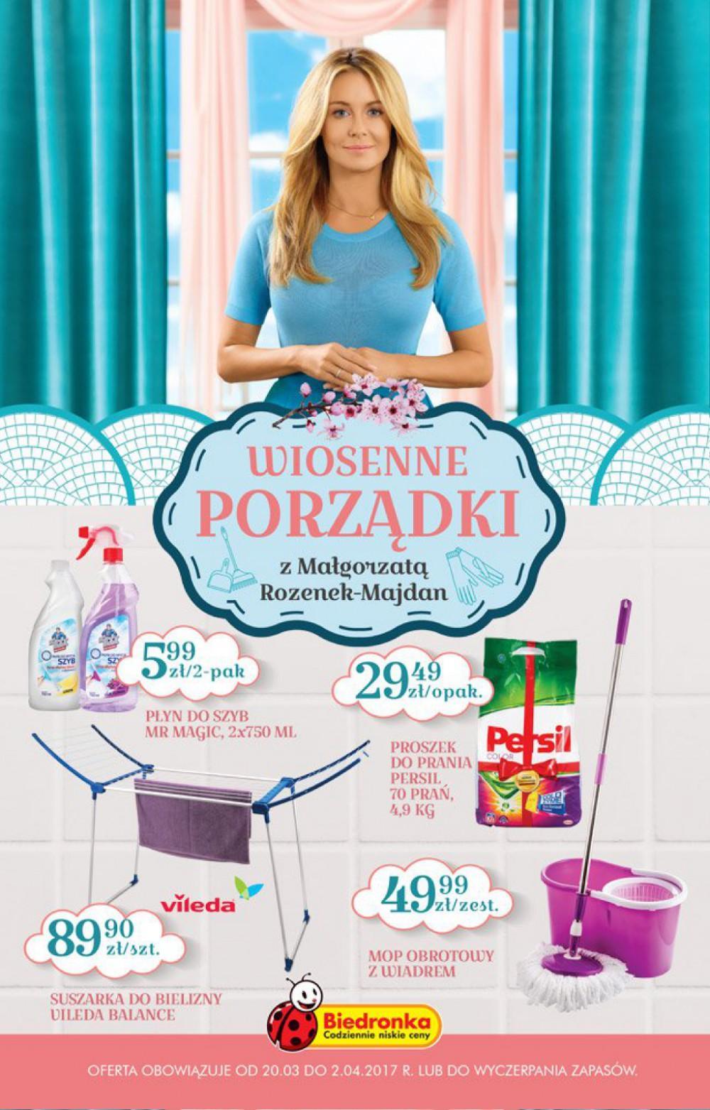 Gazetka promocyjna Biedronka do 02/04/2017 str.0