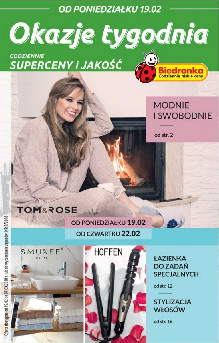 Gazetka promocyjna Biedronka do 07/03/2018 str.0