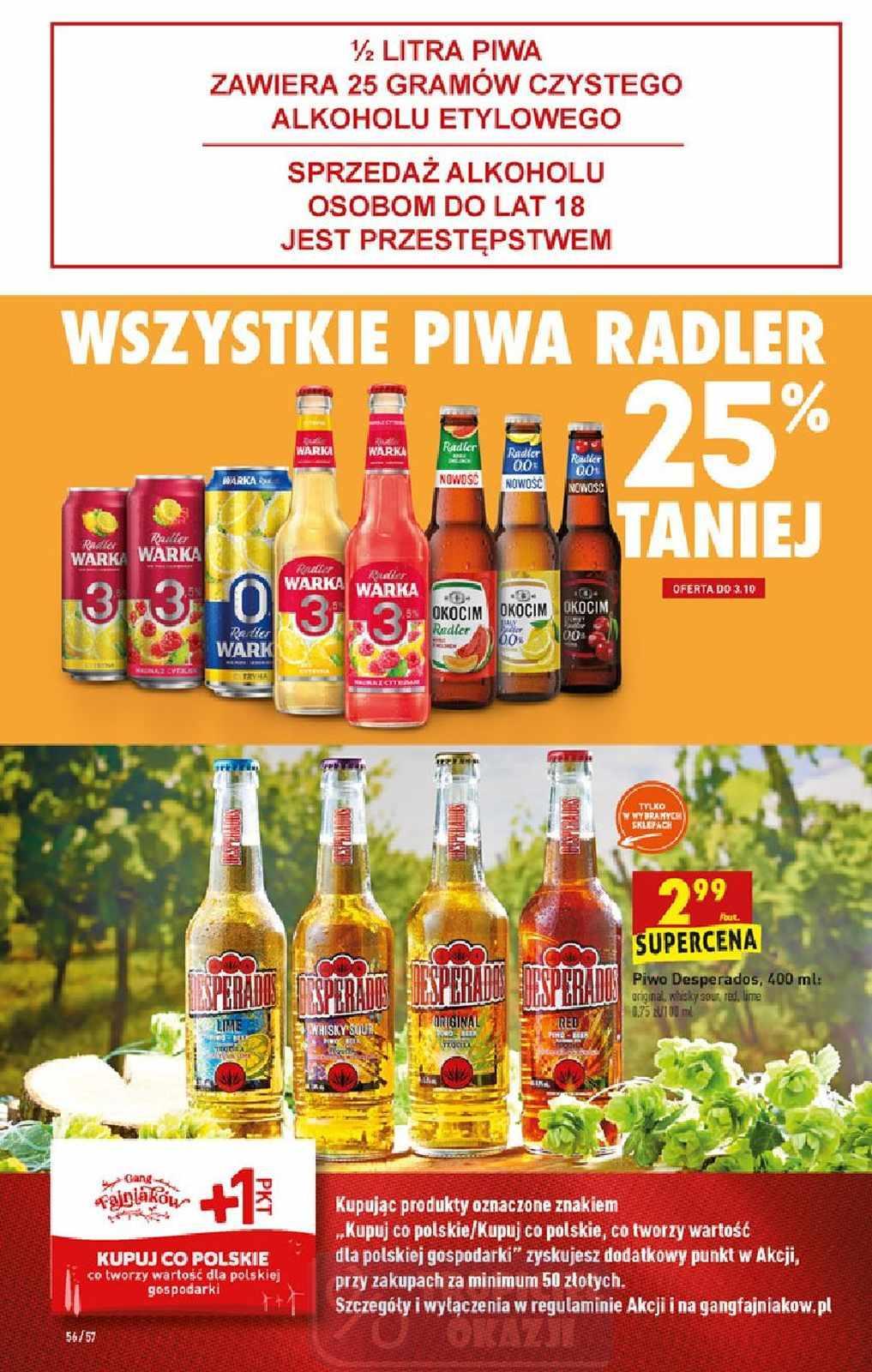 Gazetka promocyjna Biedronka do 07/10/2020 str.56