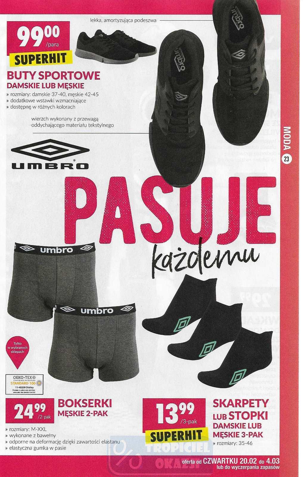Gazetka promocyjna Biedronka do 29/02/2020 str.23