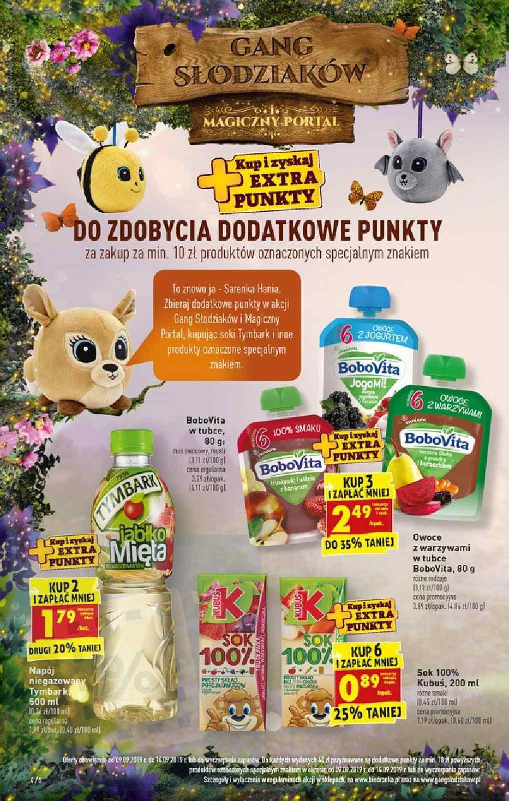Gazetka promocyjna Biedronka do 14/09/2019 str.4