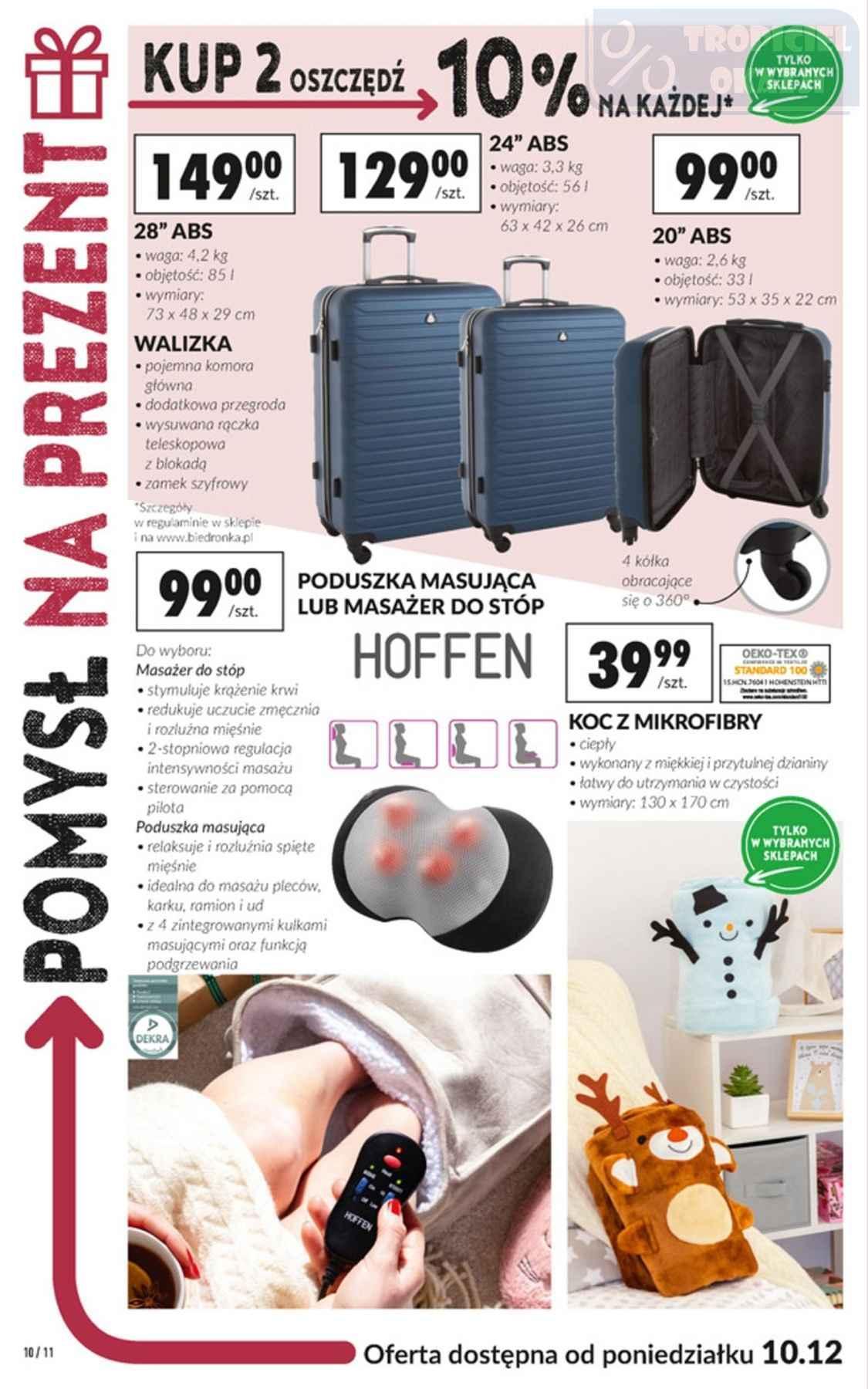 Gazetka promocyjna Biedronka do 24/12/2018 str.10
