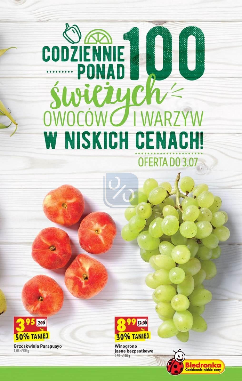 Gazetka promocyjna Biedronka do 07/07/2019 str.4