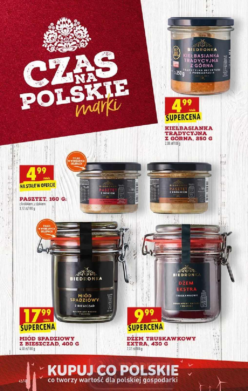 Gazetka promocyjna Biedronka do 07/10/2020 str.42