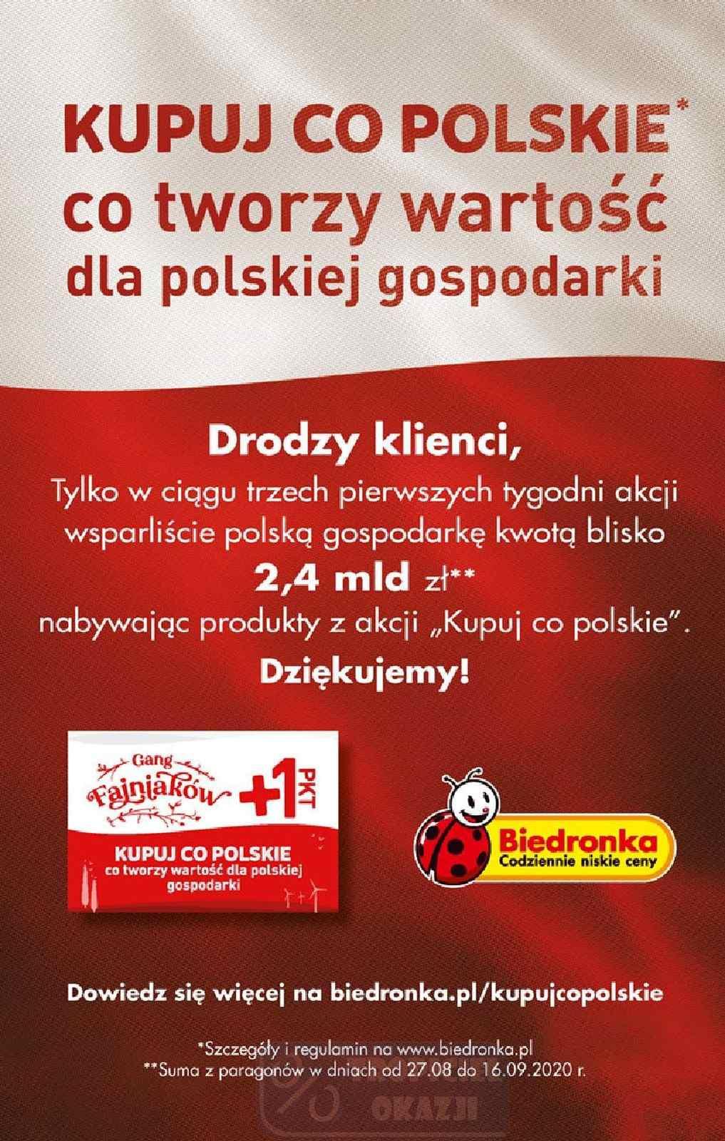 Gazetka promocyjna Biedronka do 27/09/2020 str.56