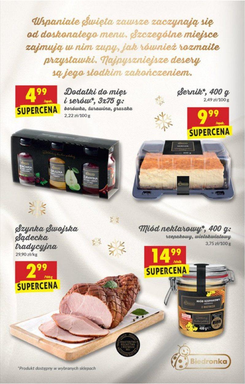 Gazetka promocyjna Biedronka do 06/12/2017 str.1