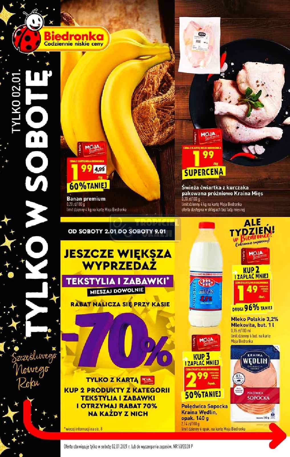 Gazetka promocyjna Biedronka do 02/01/2021 str.1