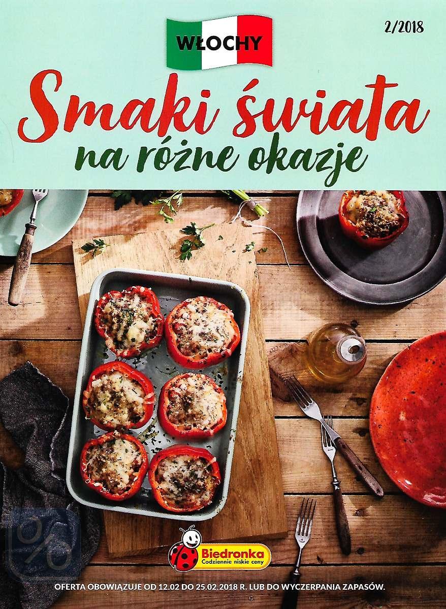 Gazetka promocyjna Biedronka do 25/02/2018 str.0