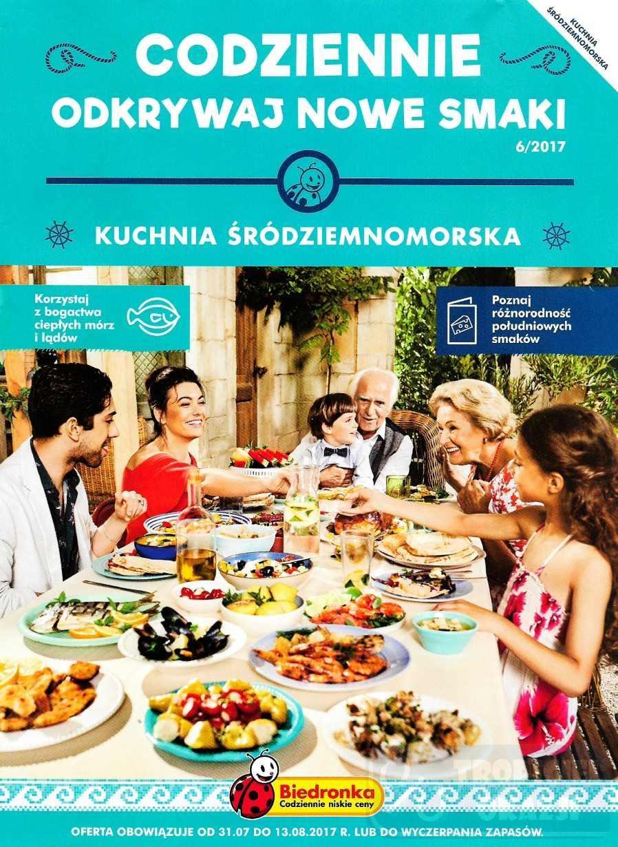 Gazetka promocyjna Biedronka do 14/08/2017 str.0