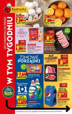 Biedronka gazetka - od 21/01/2021 do 27/01/2021