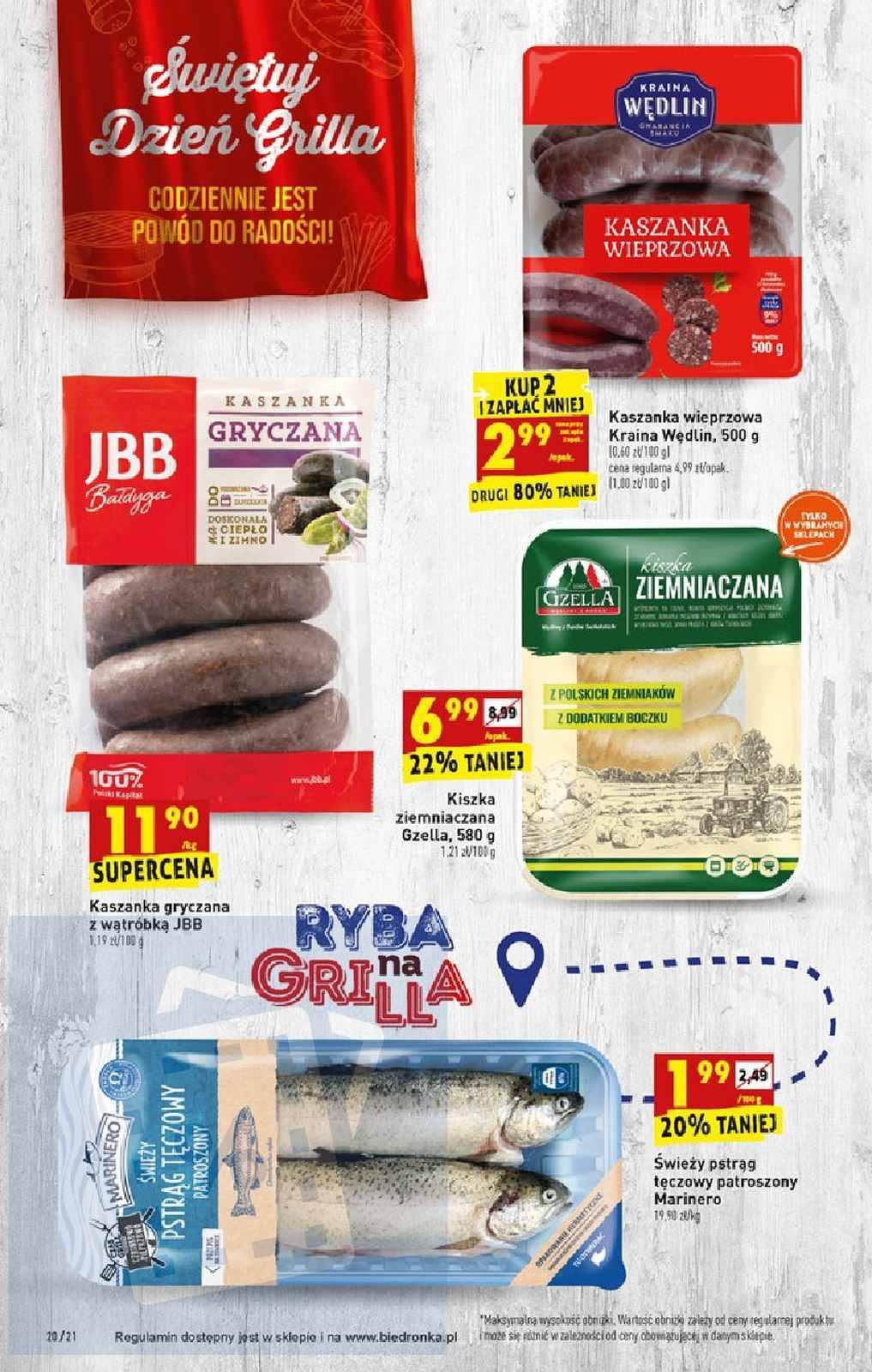 Gazetka promocyjna Biedronka do 17/08/2019 str.19