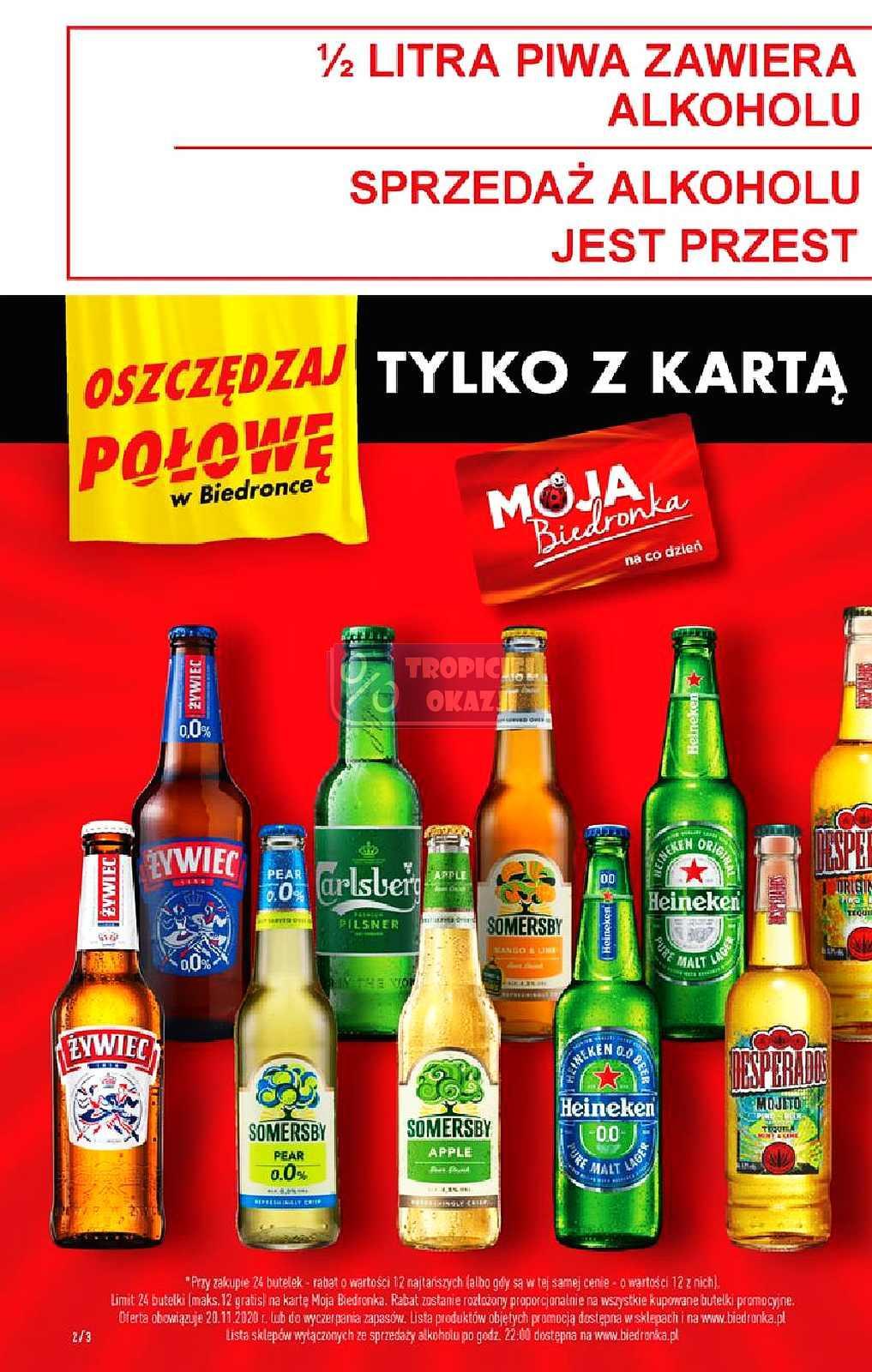Gazetka promocyjna Biedronka do 25/11/2020 str.2