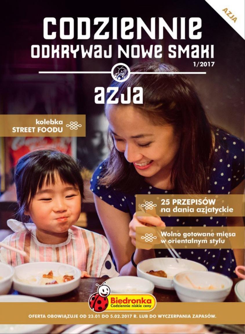 Gazetka promocyjna Biedronka do 05/02/2017 str.0