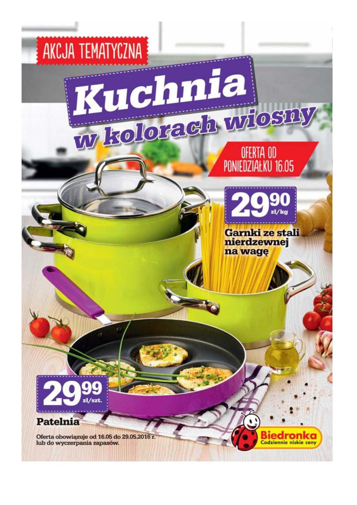 Gazetka promocyjna Biedronka do 29/05/2016 str.0