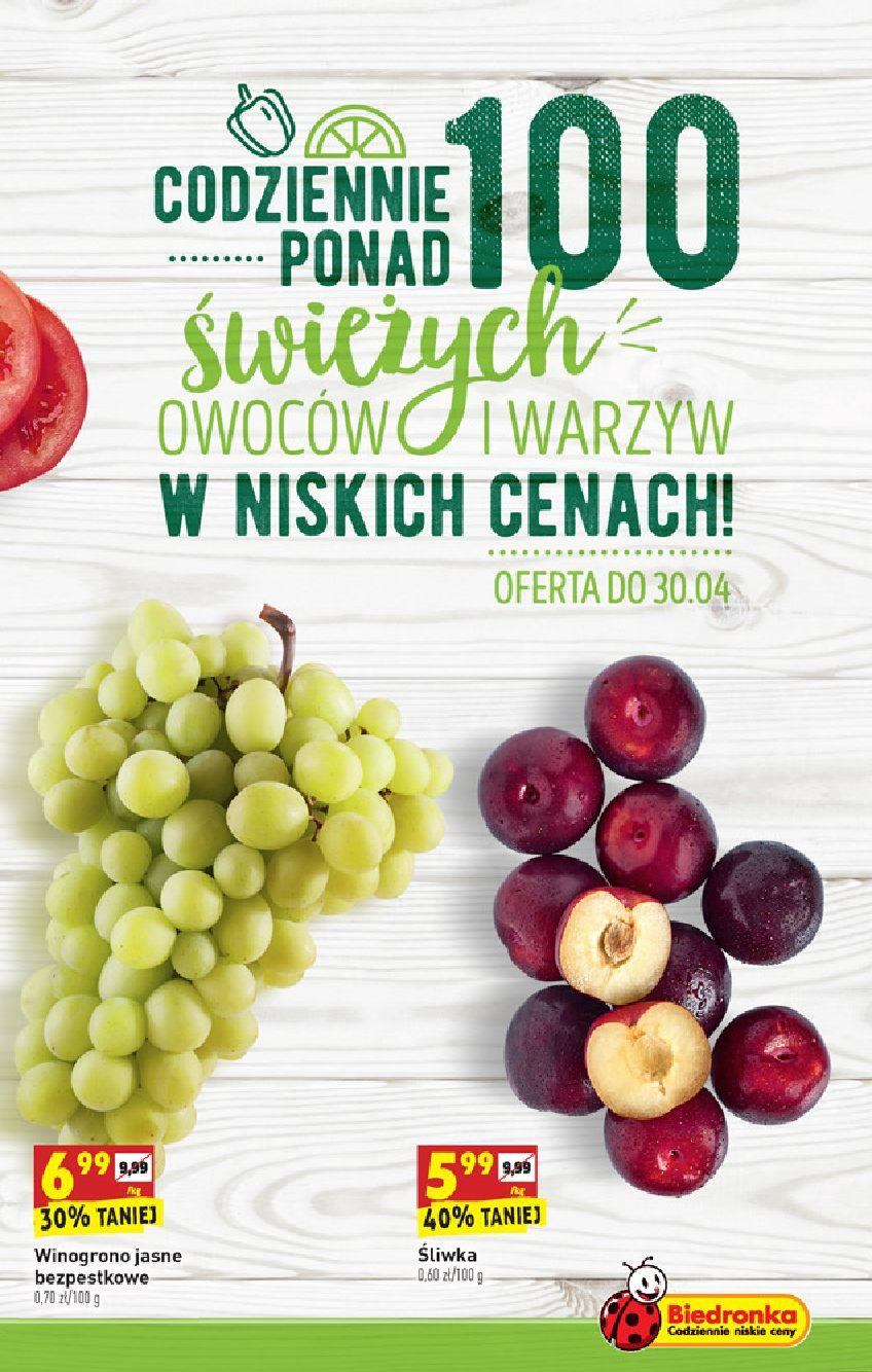 Gazetka promocyjna Biedronka do 05/05/2019 str.4