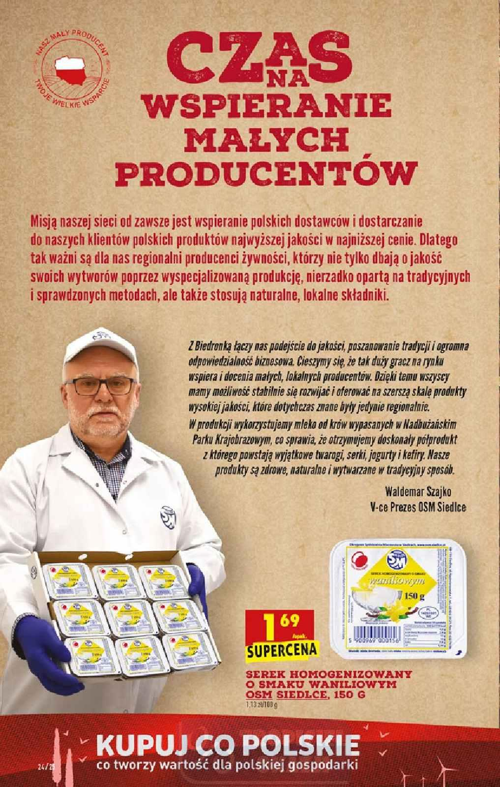 Gazetka promocyjna Biedronka do 07/10/2020 str.24